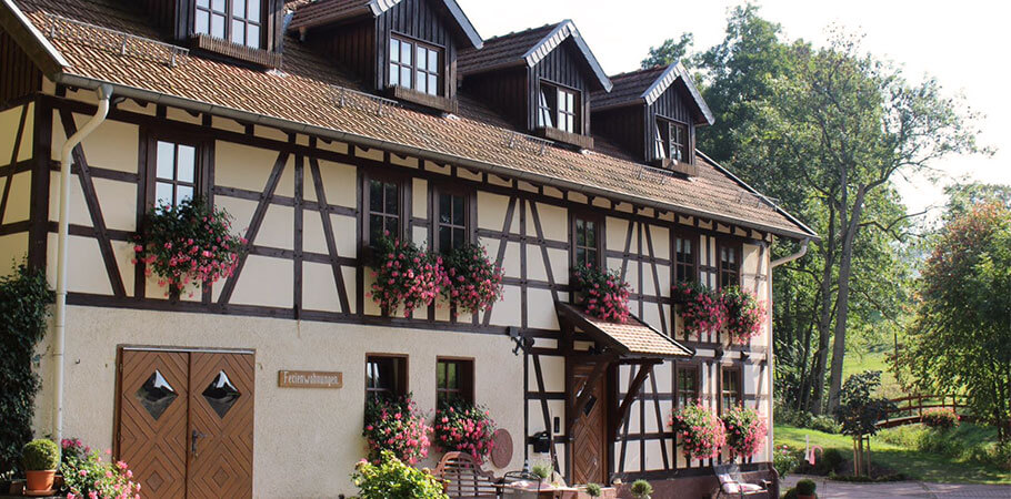 Herzlich Willkommen auf dem Ferienhof Heckenmühle